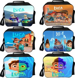 Students Movie Luca Lunch Bags Kids