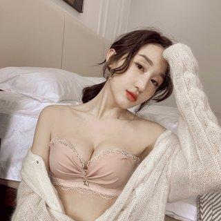 Sweet Bra Set Girl Japanese Cute Lace