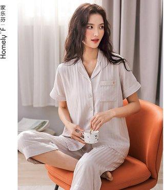 Womens Woven Cotton Gauze Pajamas