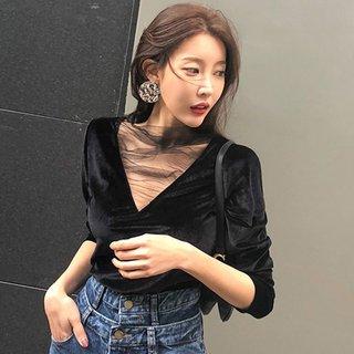 T-shirt Female Loose Long Sleeve Autumn