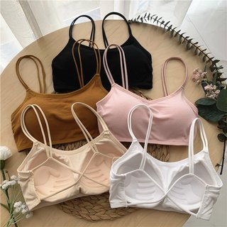 Summer Korean Style Simple Solid Color