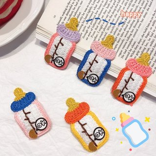 Knit Style Hair Clips For Girls Hair