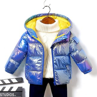 Winter Childrens Outerwear Shiny