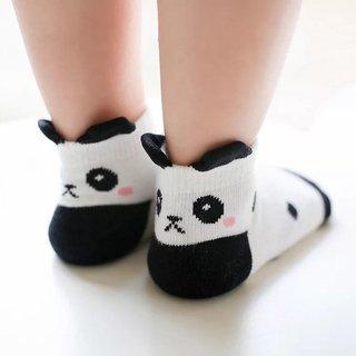 Unisex Kids Socks Cartoon 3D Panda Dots
