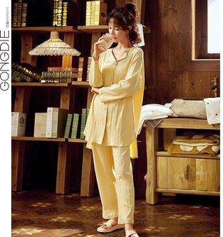 Gong Die Pajamas Womens Spring Summer