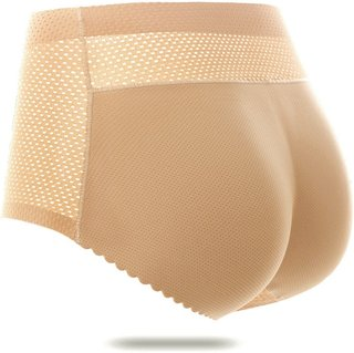 Women Fake Buttocks Panties Seamless
