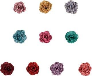 Yundfly 20pcs/lot Mini Lattice Rose