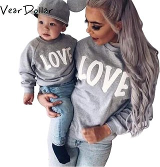 VearDoller Family Matching Outfits Love