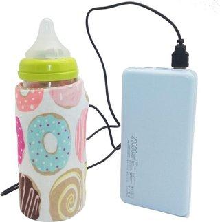 USB Milk Water Warmer Travel Stroller