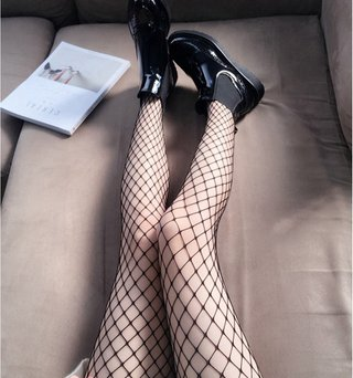 Womens Long Hollow Out Sexy Pantyhose