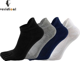 Veridical 5 Pairs/Lot Solid Socks With