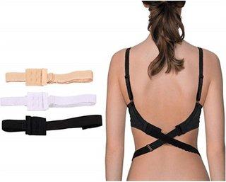 Women Low Back Bra Strap Extend Hook