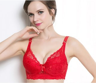 Weseelove Lace Sexy Bra Without Bones