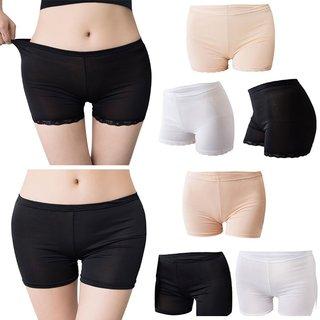 Women Soft Cotton Seamless Safety Short