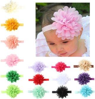 baby headband Chiffon flower Baby