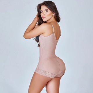Women Shapewear Bodysuit Straps Tummy