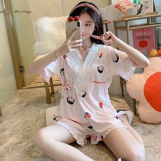 Kimono Pajamas Womens Summer Pure