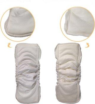 Waterproof Organic Bamboo Cotton Wrap
