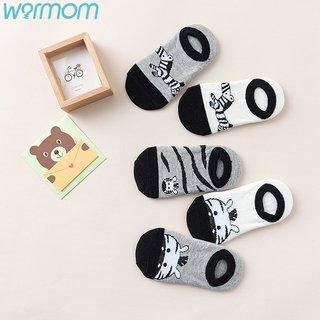 WARMOM 5 Pair Children Short Socks