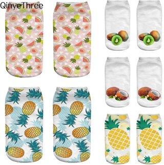 fashion 3D printing socks tropical