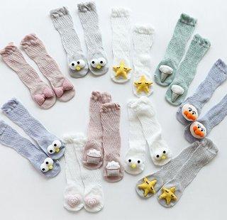 Toddler Girls Socks Combed Cotton