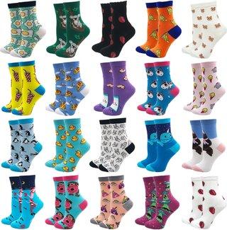 YEADU Womens Socks Harajuku 85% Cotton