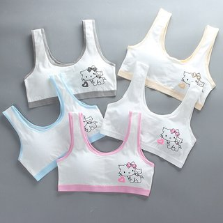 cotton girl vest style bra development