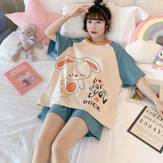 Summer Pajamas for Women Cotton Korean