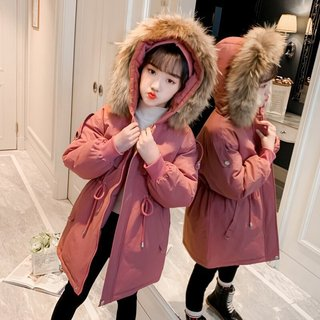 Winter Girls Childrens Jacket Thick