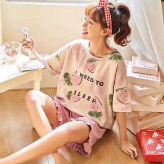 Womens Cotton Pajamas Summer