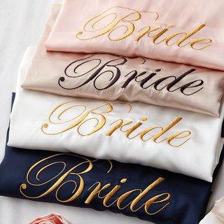 Wedding Bride Bridesmaid Robe Dressing