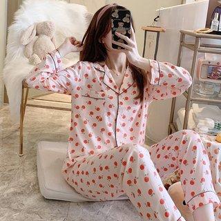 Viscose Staple Fiber Pajamas Female