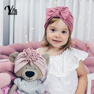 Yundfly Baby Girls Solid Color Bowknot
