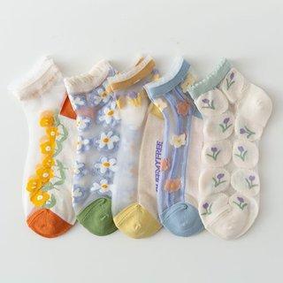 Women Summer Ultrathin Ankle Socks