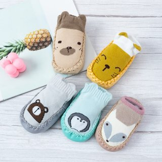 born Baby Socks With Rubber Soles