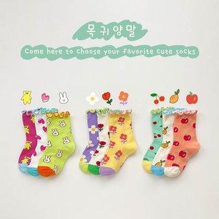 kids fashion designer socks baby girl