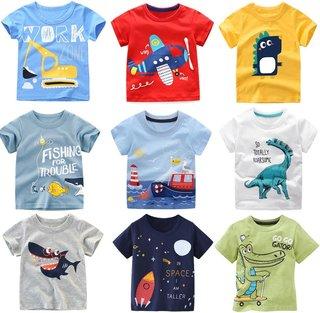 Summer Boys Short-sleeved T-shirt