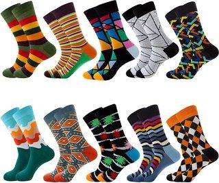 Unisex Happy Socks Retro Design Men