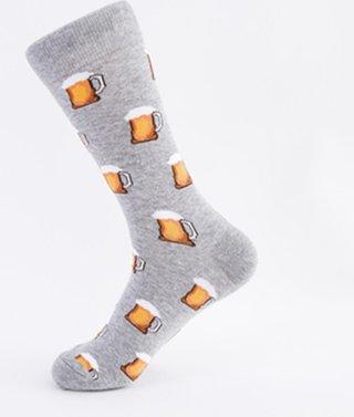 for Big Size Cartoon Mens Socks Cotton