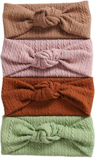 Spring Summer Solid Color Baby Headband