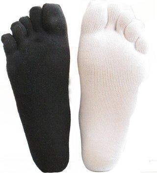 Thick Warm Toe Socks For Men Sweat
