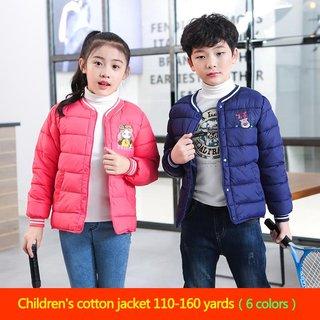 Winter new childrens padded coat for