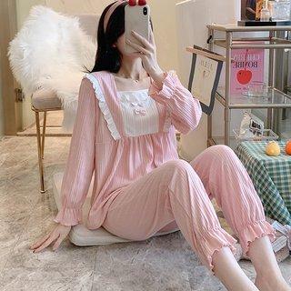 Sunken Stripe Pajamas Womens Spring and
