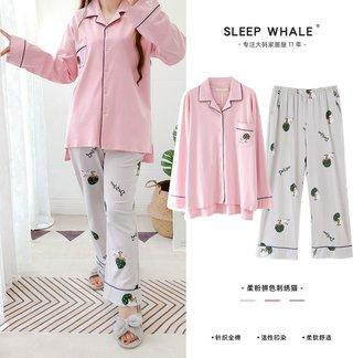 Special Price Brand Pajamas Spring and