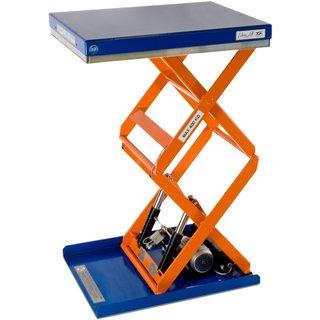 Doppelscheren-Hubtisch EdmoLift® T-Serie, TK 500 kg, Plattform à 900 x 700 mm