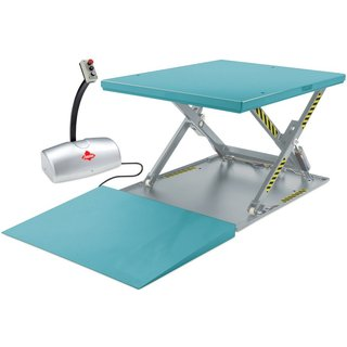 Ameise® Flach-Scheren-Hubtisch, geschlossen, TK 1.000 kg, Plattform à 1.450 x 1.140 mm