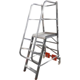 KRAUSE® Plattformleiter Vario, Ballastierung 20 kg, Standhöhe 1,10 m