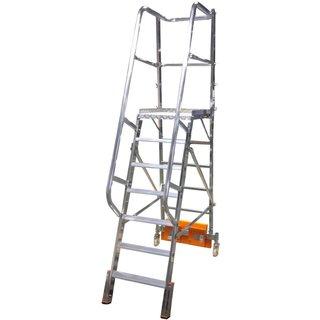 KRAUSE® Plattformleiter Vario, Ballastierung 60 kg, Standhöhe 1,65 m