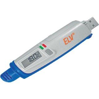 ELV USB-Datenlogger Temperatur/Luftfeuchte UTDL10