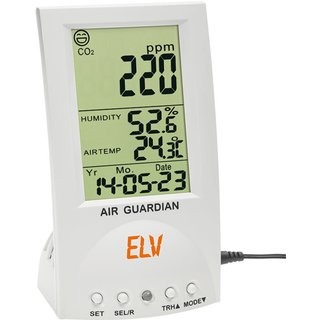 ELV CO2-Desktop-Datenlogger mit Thermo-/Hygrometer CDTL10, PC-Software